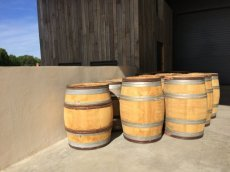 Half French Wine Barrel